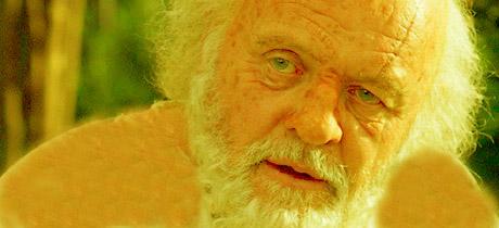 Matusalén, interpretado por Sir A. Hopkins en la gran pantalla