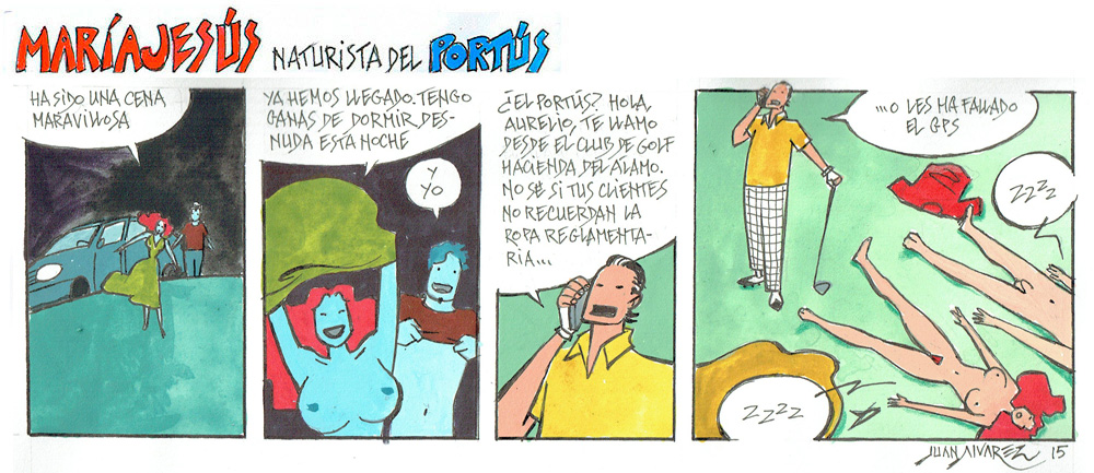 Resultado de imagen para CAMPING NATURISTA EL PORTUS