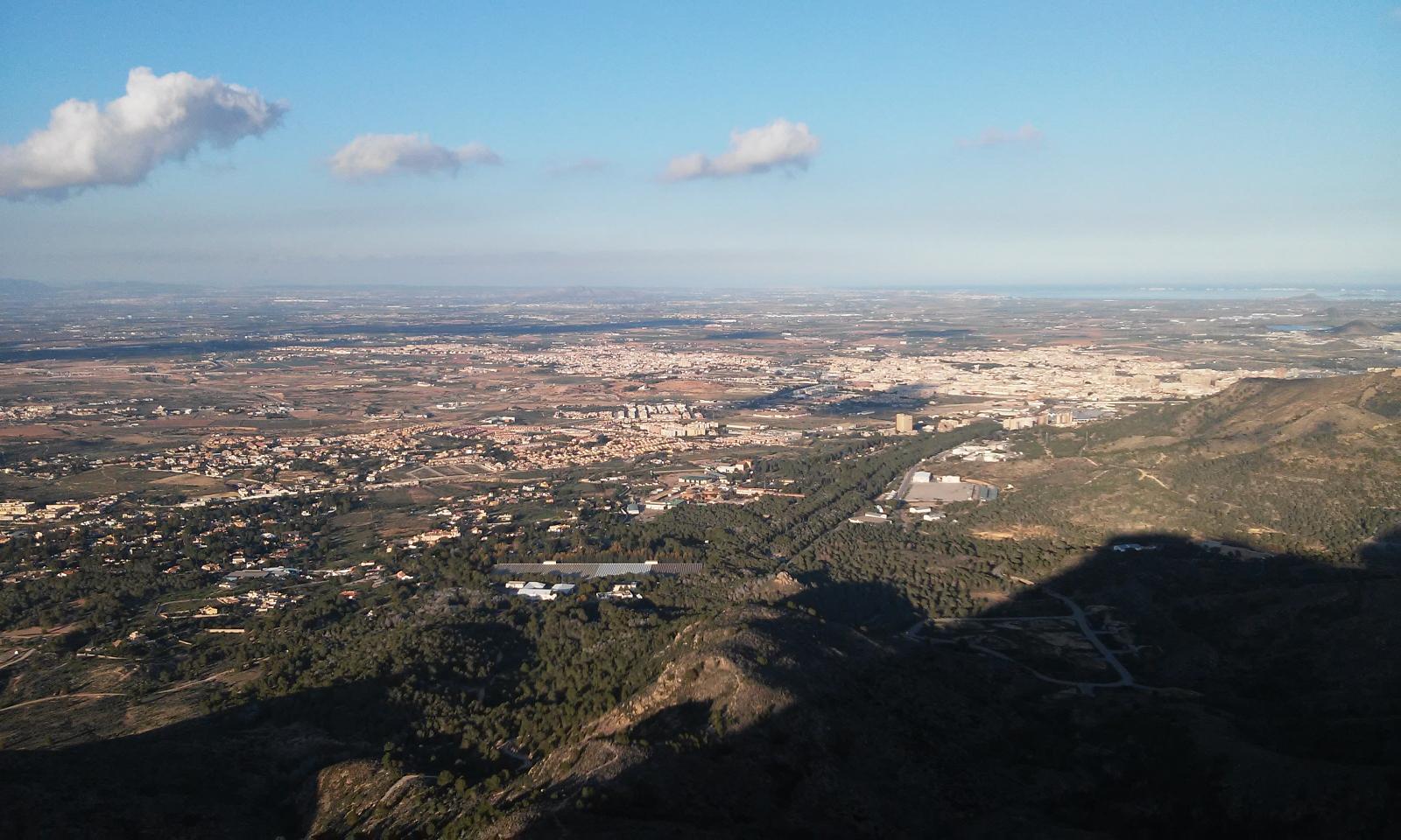 Cartagena desde monte Roldan
